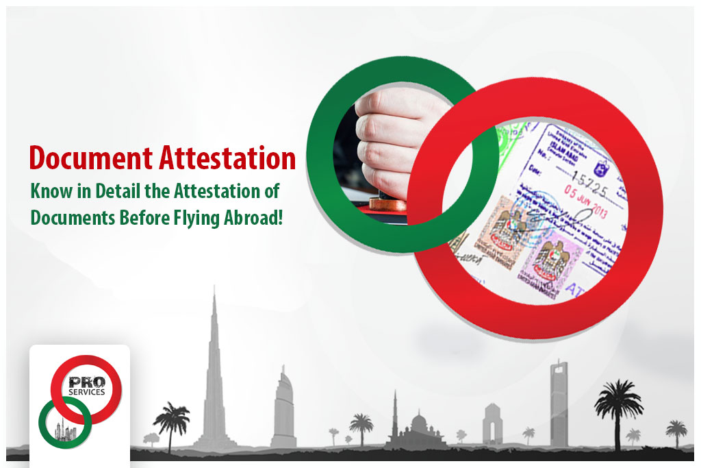 Documents Attestation in Dubai