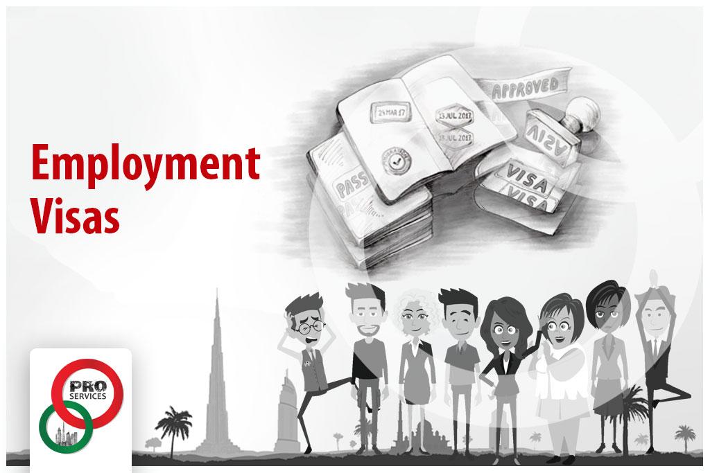 Dubai Employment Visa | PRO Services